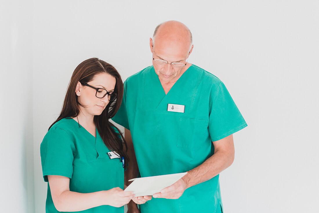 Mund-, Kiefer-, Gesichtschirurgie - Coburg - Feller / Otte - Leistungen - DVT – Digitale Volumentomographie