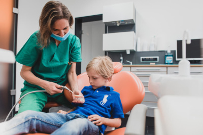 Mund-, Kiefer-, Gesichtschirurgie - Coburg - Feller / Otte - Kinder in der Praxis